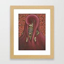 Ghost Kiss Framed Art Print