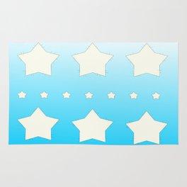 Star patchwork Rug