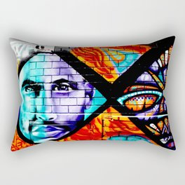 Laneway Stare Rectangular Pillow
