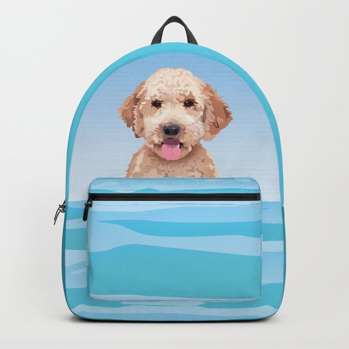 Doodle at the Beach Rucksack