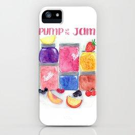 Pump up the jam iPhone Case