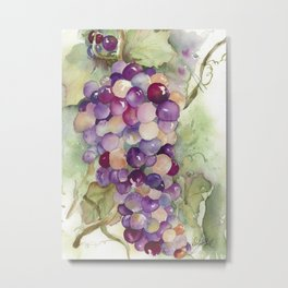 Wine Grapes 2 Metal Print