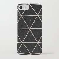 solid iPhone & iPod Cases featuring Geodesic by Terry Fan