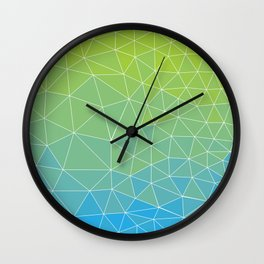 Low poly - 1 Wall Clock