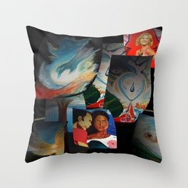 KEVIN CURTIS BARR 'S ART POSTERS Throw Pillow