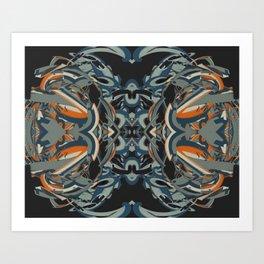 Cuentos de amor de locura y de muerte / 005 Art Print