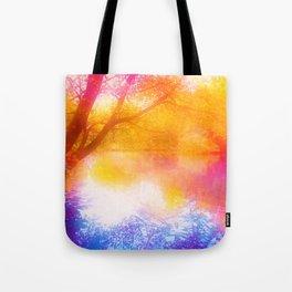 Wild, Mystic and Romance Landscape Tote Bag
