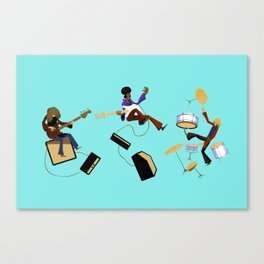the jimi hendrix experience Canvas Print