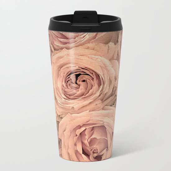 Romantic roses(14) Metal Travel Mug