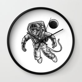 Death in space Wall Clock