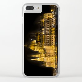 Budapest Parliament At Night Clear iPhone Case