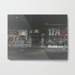 rua augusta, at night Metal Print