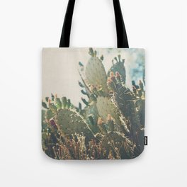 desert prickly pear cactus ... Tote Bag