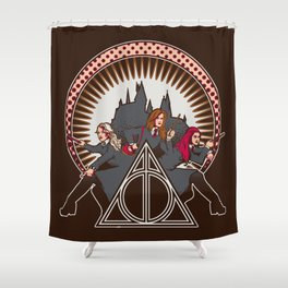 Dumbledore's Angels  Shower Curtain