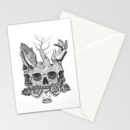 Faith in Death Stationery Cards