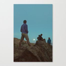 Moon Friends Canvas Print
