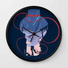 Unmei no akai ito Wall Clock