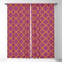 Quatrefoil Pattern Design Blackout Curtain