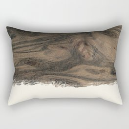 Dipped Wood - Birdseye Paldao Rectangular Pillow