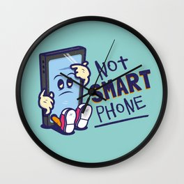 Not Smart Phone. Wall Clock