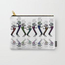 JAZZY KOKOPELLI LINE DANCE Carry-All Pouch