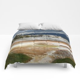 Grassy Spring View Comforters