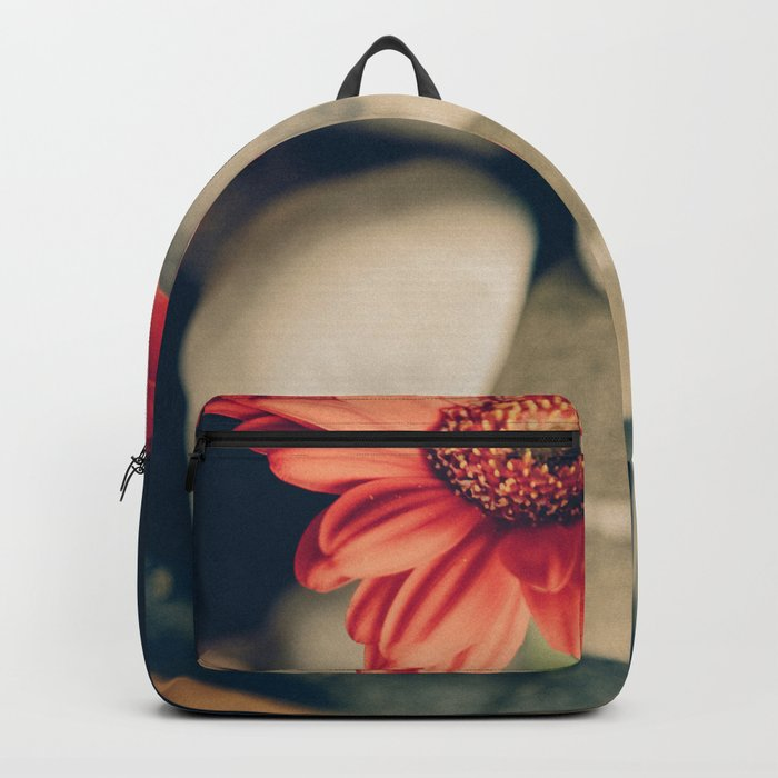 Flower and stones Backpack