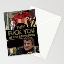 They fuck you at the drivethru Stationery Cards