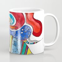 medusa Mugs featuring Medusa by Gosia&Helena