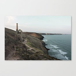 Cornish Tin Mine Canvas Print