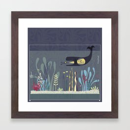 The Fishtank Framed Art Print