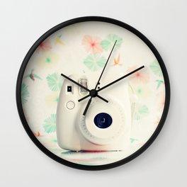 Film Instax Camera Wall Clock