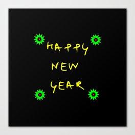 happy new year 11 Canvas Print