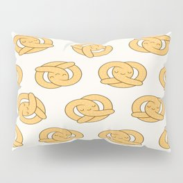 Happy Pretzel Pillow Sham