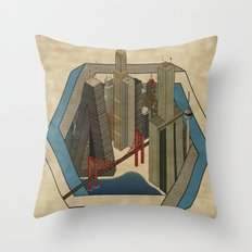 Impossibleville Throw Pillow