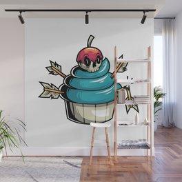 Cupcake Wall Mural