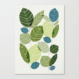 Forest Elements Canvas Print