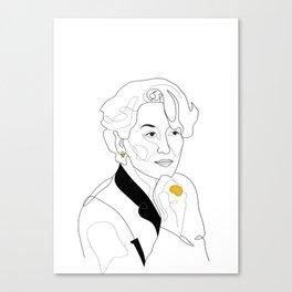 Fabulous Miranda Canvas Print