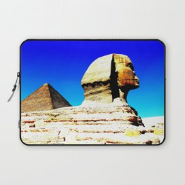 Sphinx and Pyramid Laptop Sleeve