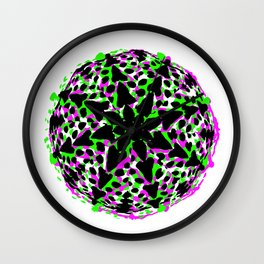 Cactus Art02_A5 Wall Clock