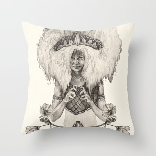 L E O  Throw Pillow