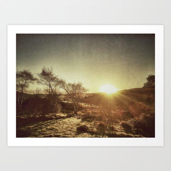Ireland Sunset Art Print