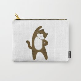 Brown cat / Illustration Carry-All Pouch