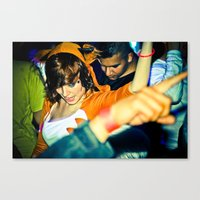 rave Canvas Prints featuring RaVe by Christopher Ibonalo