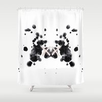 the xx Shower Curtains featuring XX by Andrea Eedes