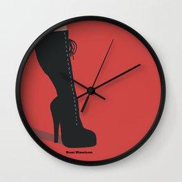 Red Hot High Heels Wall Clock