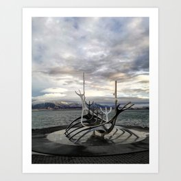 Sólfar - The Sun Voyager Art Print