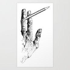 2 tools Art Print