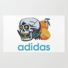adidaz oranges and skull snapback Rug