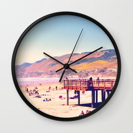I Like California Beaches, Do You? Wall Clock